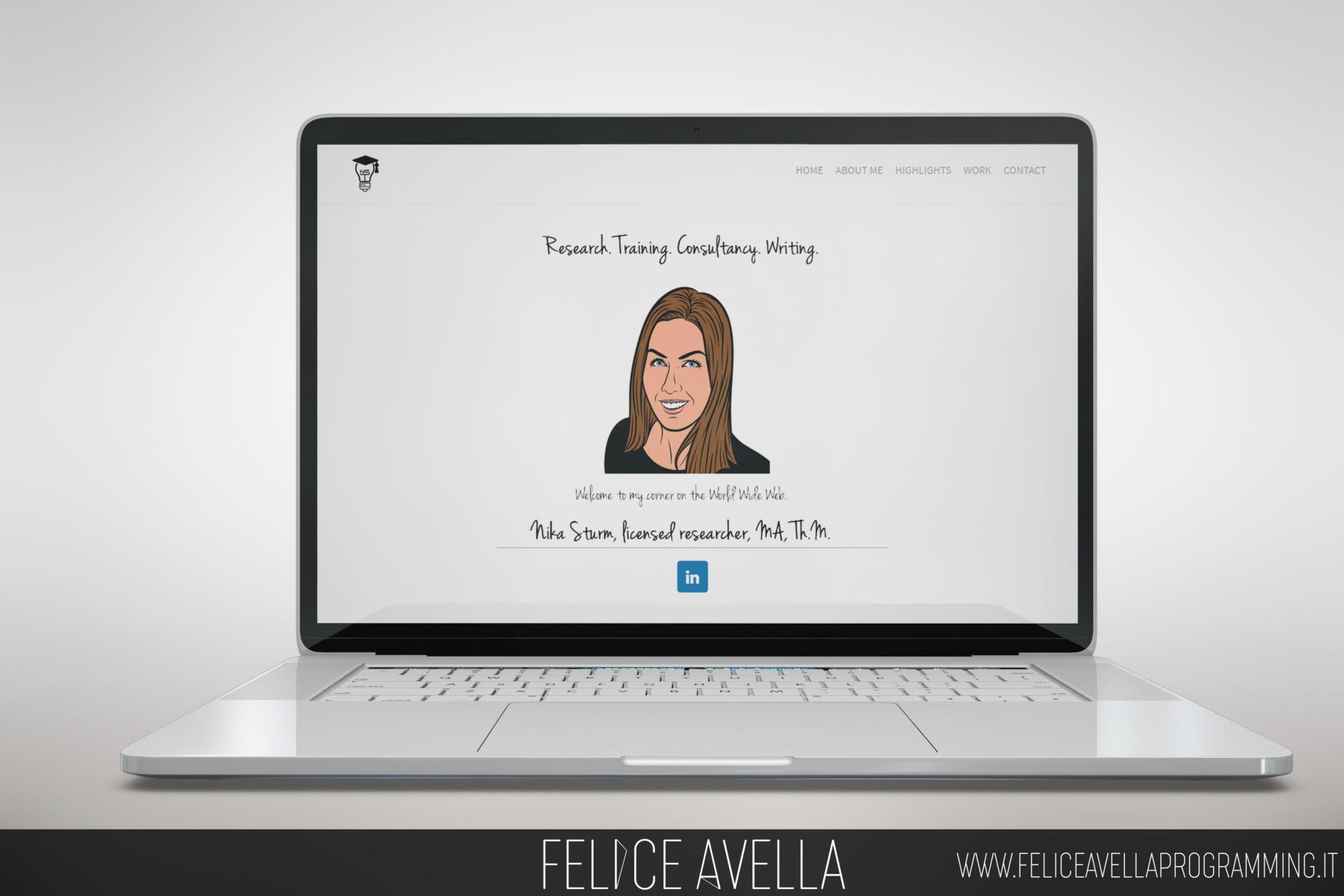web design web site nika sturm