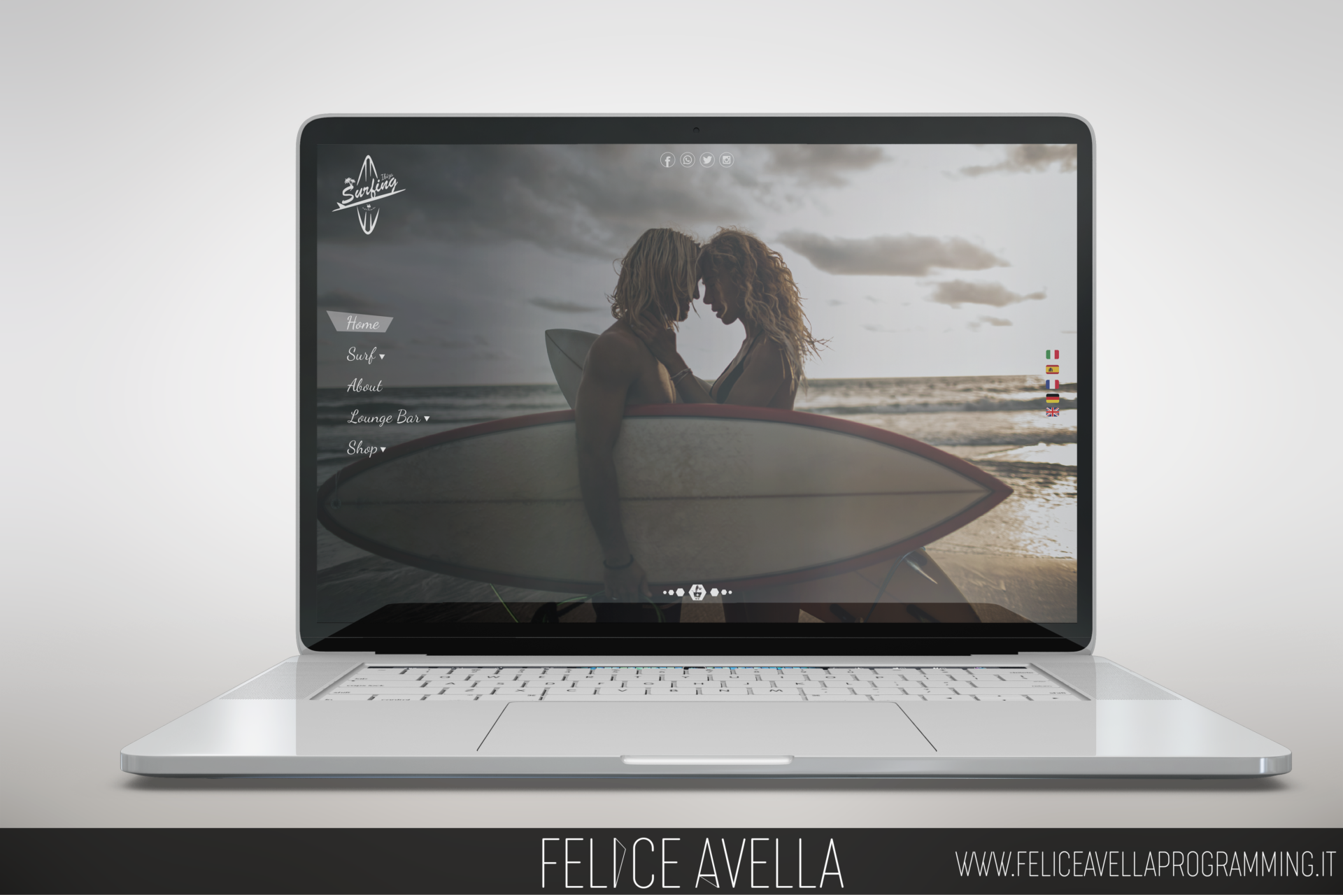 surfing sito web